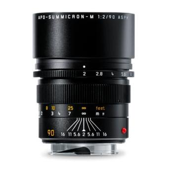 LEICA APO-SUMMICRON-M 90 MM F/2 ASPH BLACK