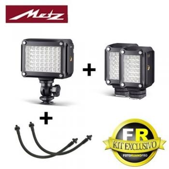 KIT MECALIGHT LED-320 + 2UNID 160 + 2 BRAZOS