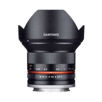 SAMYANG 12MM F.2.0 NCS CS SONY E NEGRO