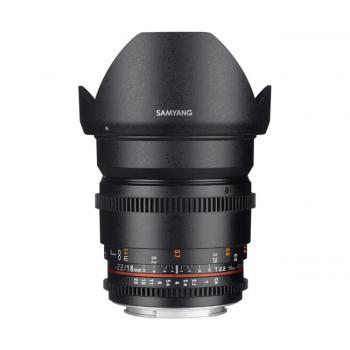 SAMYANG 16MM T2.2 ED AS UMC CS VDSLR II CANON EF-S