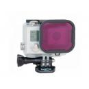 GOPRO MAGENTA PARA STANDARD HOUSING HERO 4