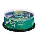 DVD-R FUJIFILM 120MM. PRINTABLE  25 UNIDADES