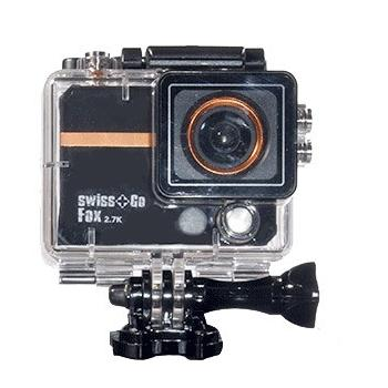 "SWISS-GO CAMARA DEPORTIVA ""FOX"" WIFI 2,7K 32FPS"