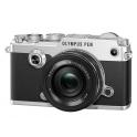 OLYMPUS PEN-F + 14-42MM EZ KIT (PEN-F PLATA+14-42MM EZ NEGRO)