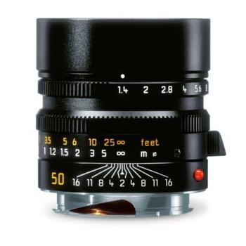 LEICA SUMMILUX-M 50 MM F/1.4 ASPH. BLACK ANODIZED FINISH    11891