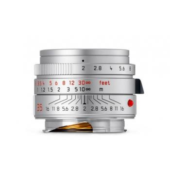 LEICA SUMMICRON-M 35 MM F/2 ASPH. SILVER CHROME FINISH