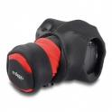 MIGGÖ GRIP AND WRAP SLR ROJO/NEGRO - CORREA Y FUNDA 2 EN 1
