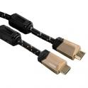 CABLE HAMA VIDEO HDMI DE ALTA VELOCIDAD CON ETHERNET 1.5M  122124