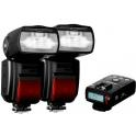 KIT PRO 2 FLASHES MODUS 600RT PARA NIKON