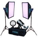 KIT FLASH ESTUDIO PRO 2X180W FTF-180 BOWENS     220014