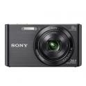 SONY DSC-W830 NEGRA + FUNDA + 8GB (20.1MPX-8XZOOM-TACTIL-FULLHD)