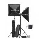 KIT 3 ELINCHROM D-LITE RX 4 TO GO