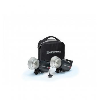 SET 2 FLASH COMPACTO ELINCHROM ELC PRO HD 1000/1000