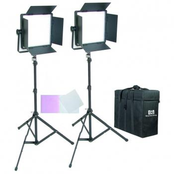 KIT 2 PANEL LED CN-600SA LUZ DIA CON ALETAS