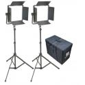 KIT 2 PANEL LED CN-1200CSA BICOLOR CON ALETAS