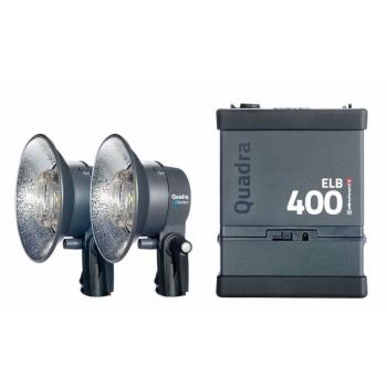 KIT ELINCHROM ELB 400 TWO ACTION HEADS TO GO    EL10414.1