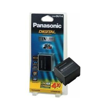 BATERIA VIDEO P/PANASONIC CGA-DU14E/1B