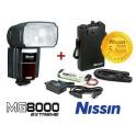NISSIN MG 8000 EXTREME NIKON + POWER PACK PS 8 NIKON