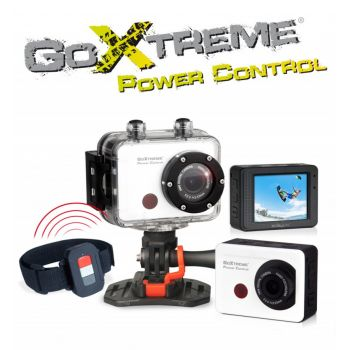 CAMARA DEPORTIVA GO-XTREME POWER CONTROL WHITE FULL HD
