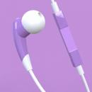 AURICULAR ACCUTONE AQUARIUS MORADO IOS Y ANDROID