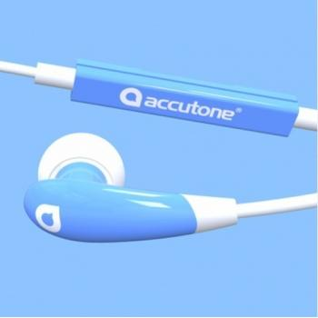 AURICULAR ACCUTONE AQUARIUS AZUL IOS Y ANDROID