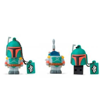 MEMORIA USB 8GB BOBA FETT STAR WARS