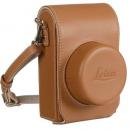 LEICA FUNDA LEATHER CASE D-LUX (TYP 109), COGNAC