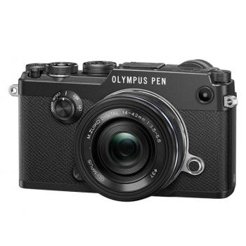 OLYMPUS PEN-F + 14-42MM EZ KIT (PEN-F NEGRO+14-42MM EZ NEGRO)