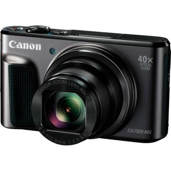 CANON SX720 NEGRA -20.3 MPX - ZOOM 40X- WIDE 24MM - WIFI-FULHD