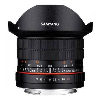 SAMYANG 12MM F.2.8 ED AS NCS OJO DE PEZ CANON EF