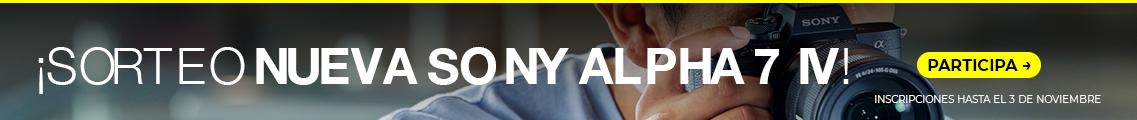 Sorteo nueva Sony A7 IV
