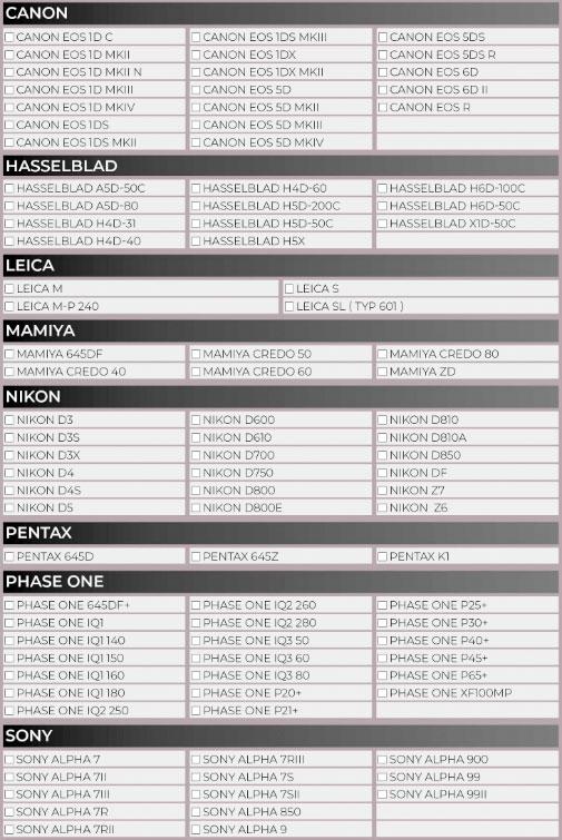 Plan renove Fujifilm GFX