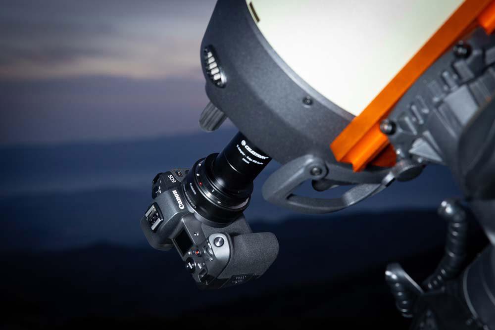 Canon EOS Ra en Telescopio