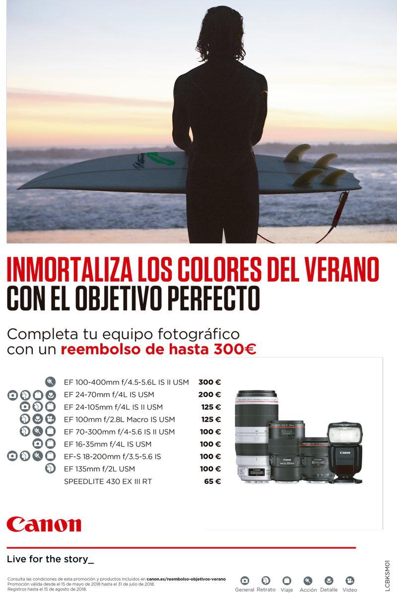 Promoción Reembolso Canon Verano