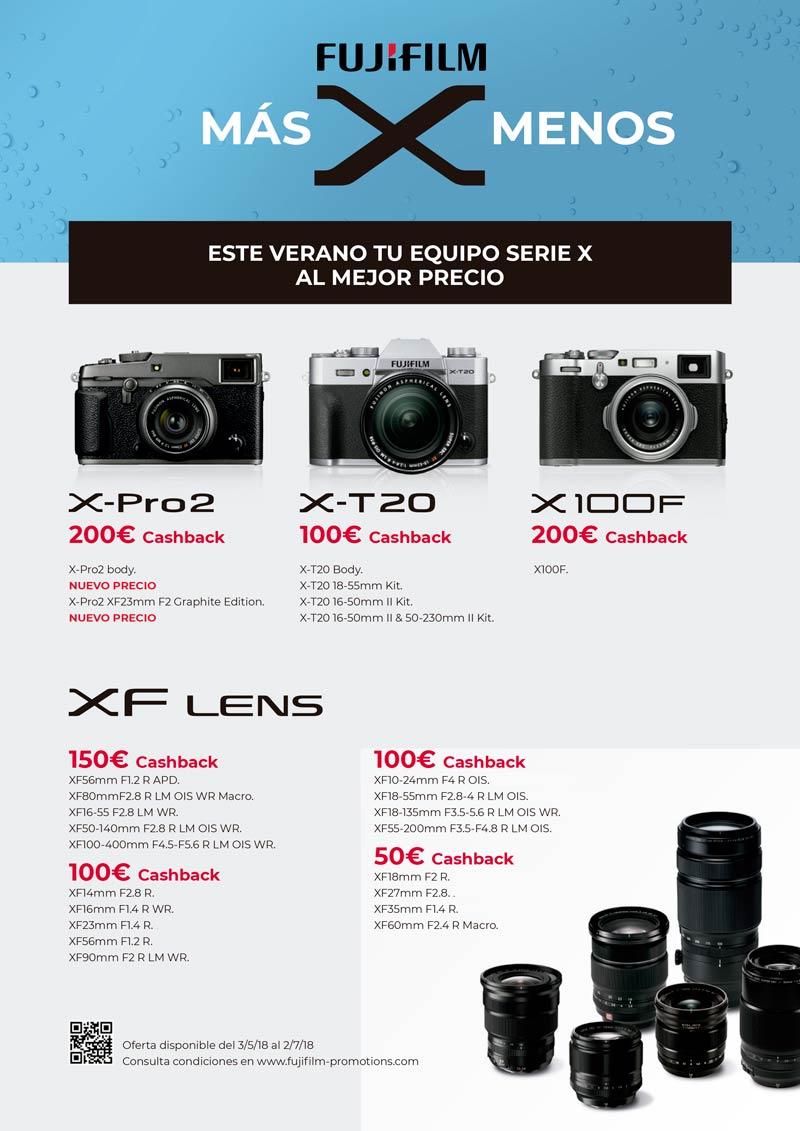 Cashback Fujifilm Verano 2018
