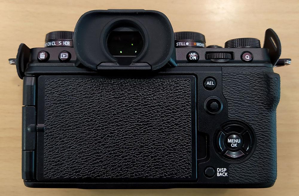 Fujifilm X-T4 - Detalle parte treasera