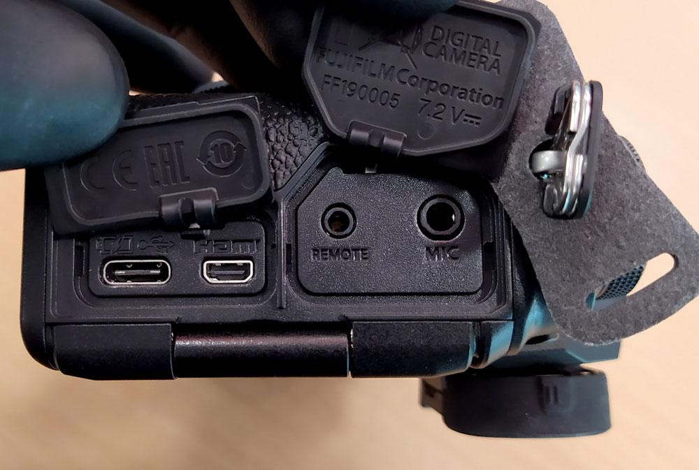 Fujifilm XT4 - Conexiones