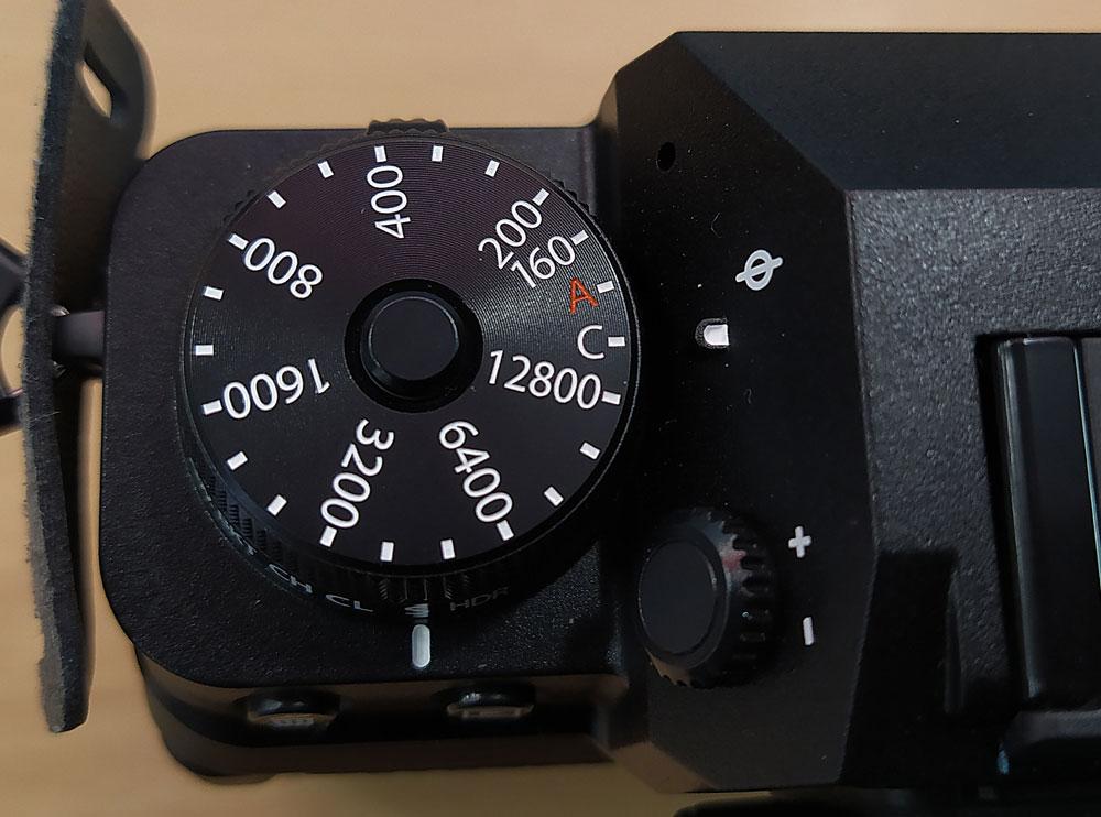 Fujifilm X-T4 Dial de control