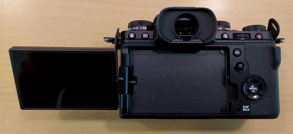 Fujifilm XT4 Pantalla desplegada