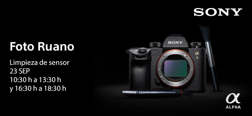 Limpiezas sensor Semana Sony PRO Tour