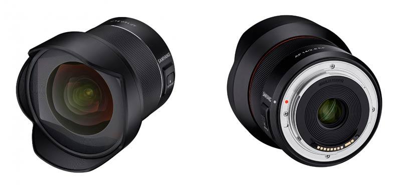 Samyang AF 14mm F2.8 EF para Canon EOS