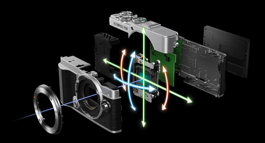 PEN E-P7 Estabilizador de imagen de 5 ejes integrado