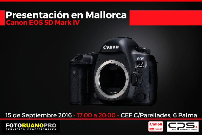 Canon EOS 5D Mark IV - Presentación