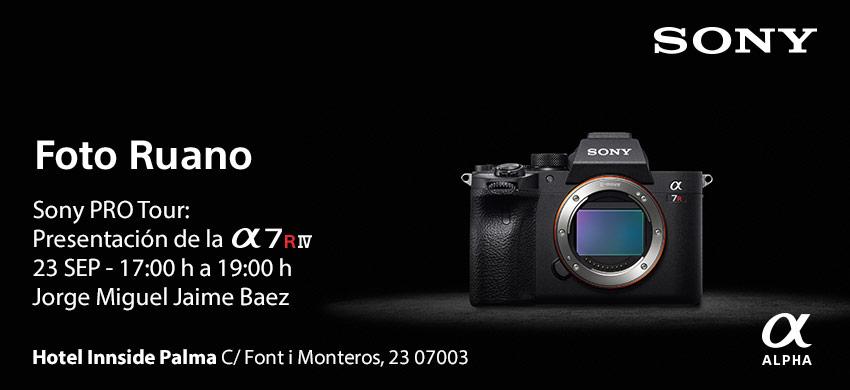 Presentación Sony A7r IV