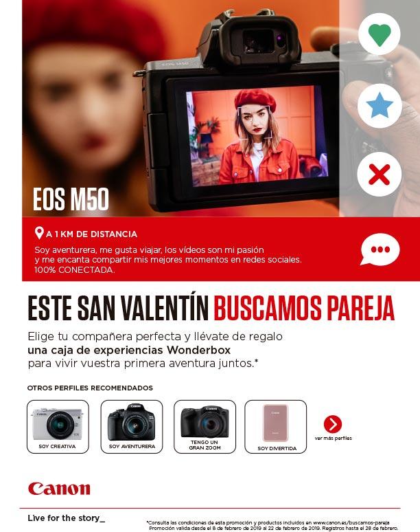 Canon España - Promoción San Valentín