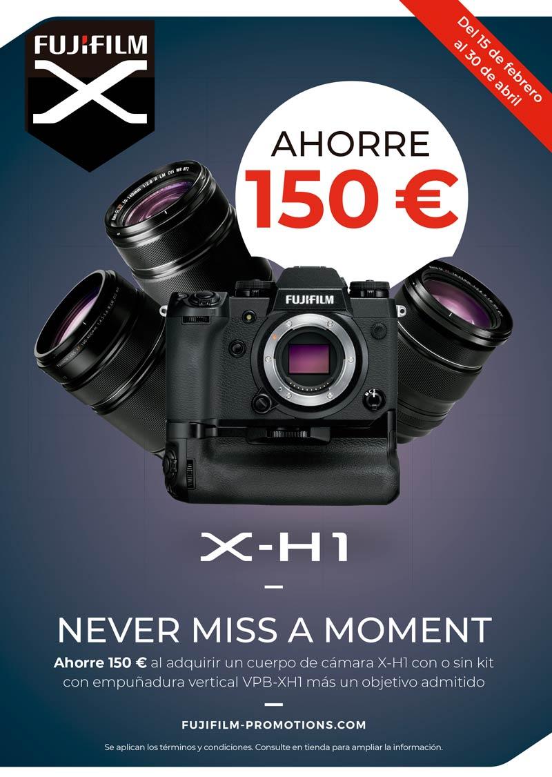 Promoción lanzamiento Fujifilm X-H1