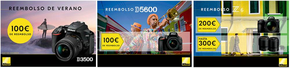 Promoción Reembolso verano Nikon
