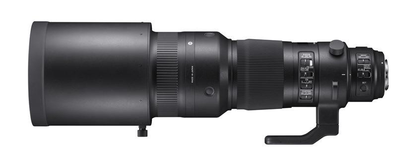Nuevo Sigma 500mm F4 Sports - Photokina