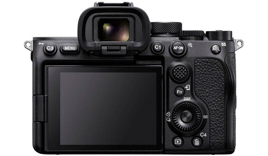 Sony A7sIII - Vista pantalla