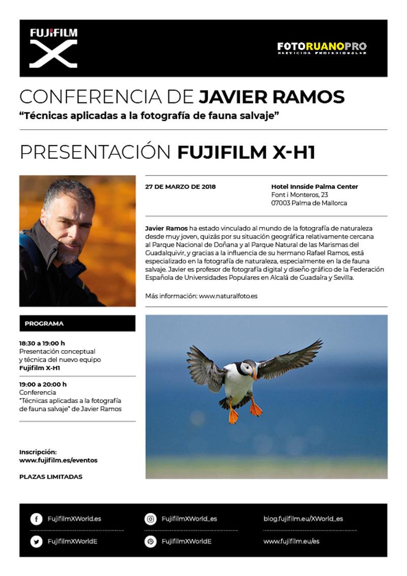 Conferencia Fujifilm - Javier Ramos